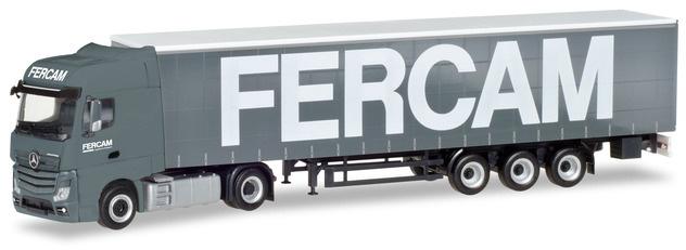 "Herpa 309486 Mercedes Benz Actros Bigspace ""Fercam"""