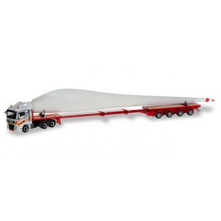 Herpa 310062 MAN TGX XLX trasporto pala eolica