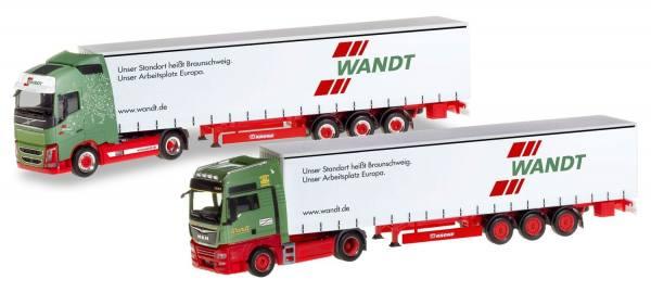 """Herpa 310215 Set 2 modelli  """"80° anniversario Spedition Wandt"""""""