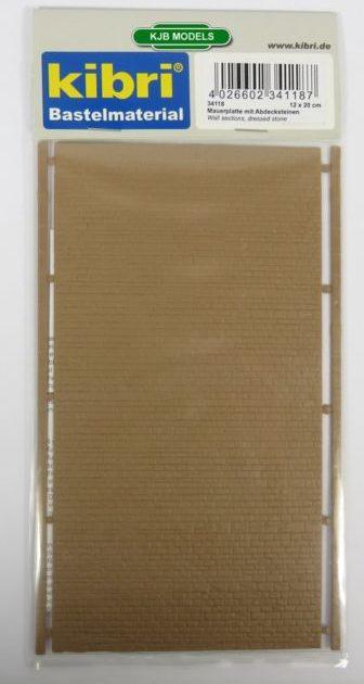 Kibri 34118 MURO in pietra 20 x 12