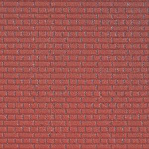 Kibri 34147 FOGLIO MURO IN MATTONI 20 x 12