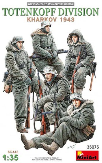 MiniArt 35075 Totenkopf Division ( Kharkov 1943 )
