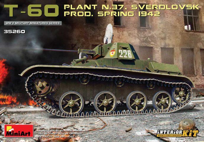 MINIART 35260 T-60 (Plant No.37