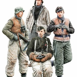 MINIART 35280 German Tank Crew.Kharkov 1943