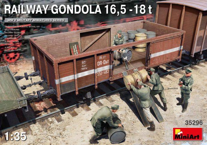 MINIART 35296 Railway Gondola 16