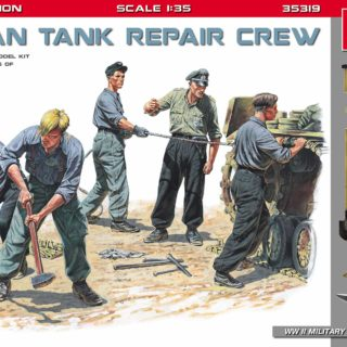 MINIART 35319 German Tank Repair Crew. Special Edition