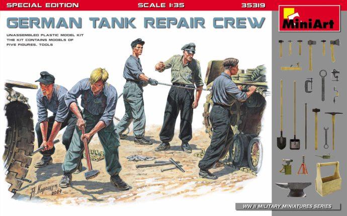 MINIART 35319 German Tank Repair Crew. Special Edition