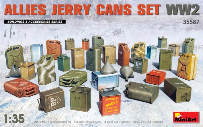 MINIART 35587 Allies Jerry Cans Set WW2