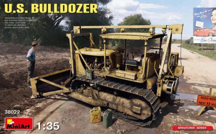 MiniArt 38022 U.S. Bulldozer