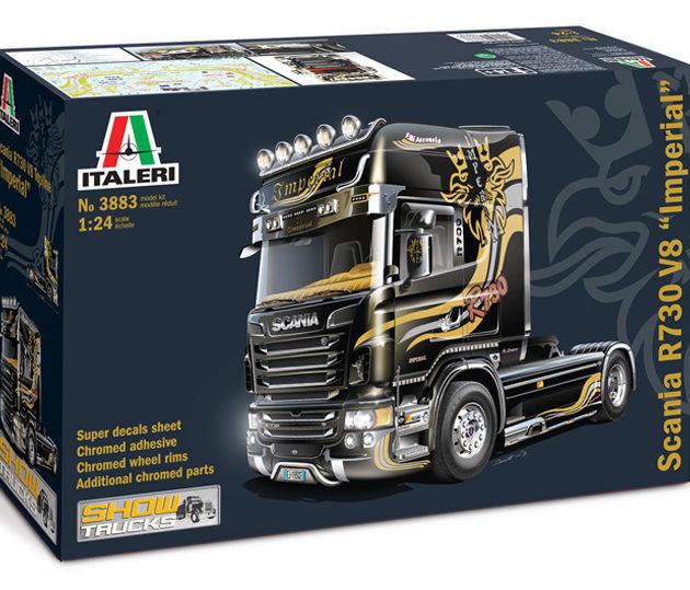 """ITALERI 3883 Scania R730 V8 Topline """" Imperial"""""""