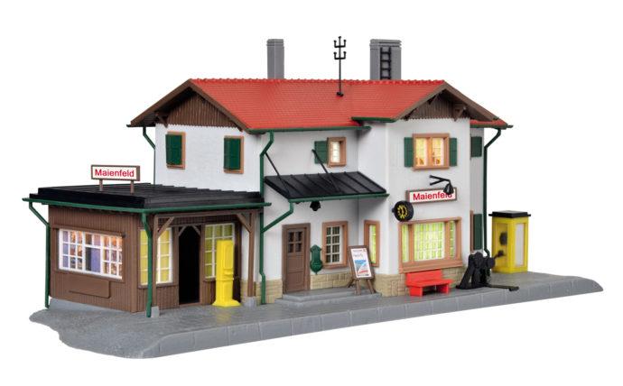 Kibri 39496 Stazione con kit d'illuminazione