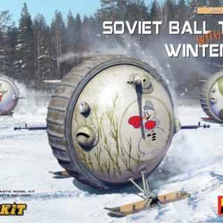 MINIART 40008 Soviet Ball Tank with Winter Ski. Interior Kit