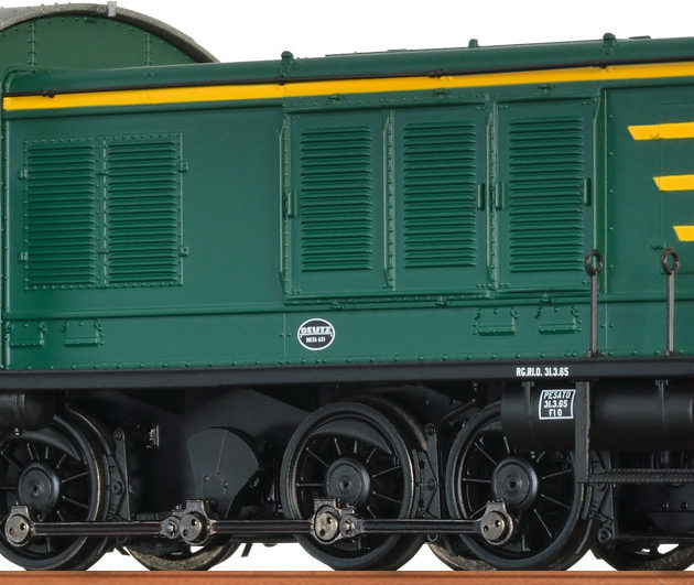 """Brawa 41617 Loco diesel  236 delle """"FS"""" in c.a.digital BASIC"""