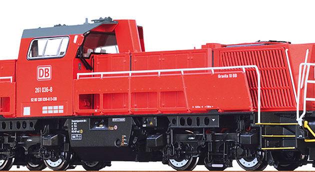 Brawa 42794 Gravita 10BB DB SG