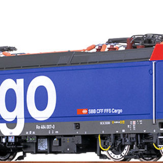 Brawa 43984 LOCO EL. 484 SBB CARGO VI DC An BASIC
