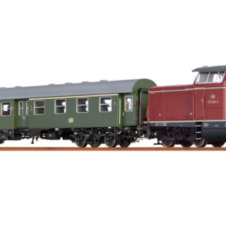 Brawa 45912 Set convoglio Jubileo loco BR212 analogico