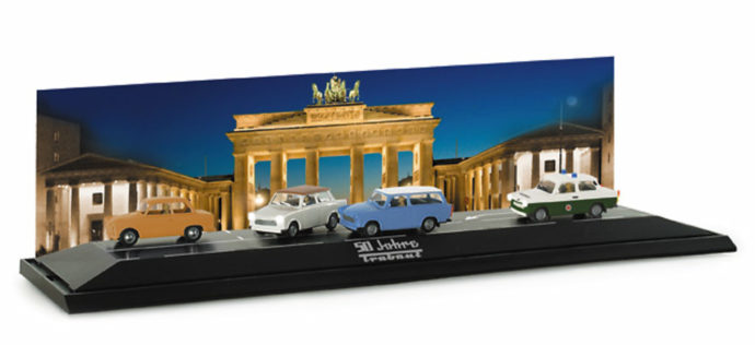 "Herpa 461283 Scenix diorama ""Trabant"""
