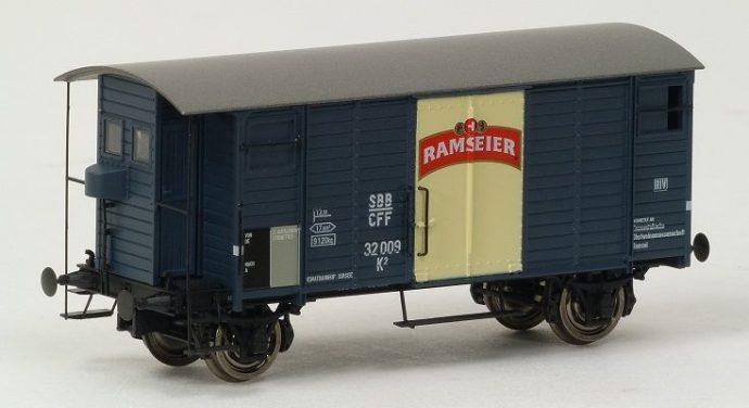 """Brawa 47856 Carro merci K2 """"Ramseier"""" SBB"""