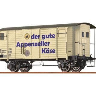 "Brawa 47860 Carro merci Gklm ""Appenzeller Kase"" SBB"