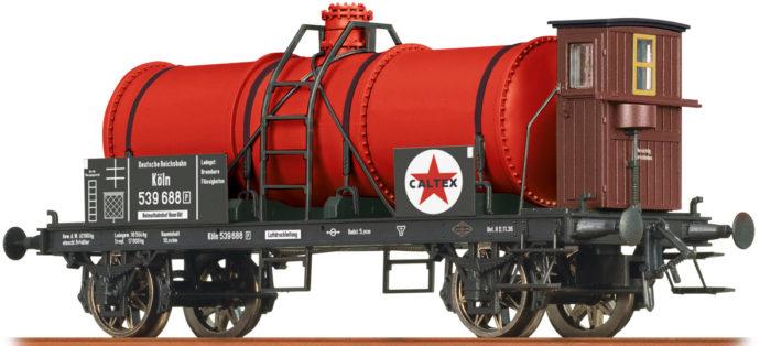"Brawa 47865 Carro cisterna Car Z (P) ""Caltex"" DRG"