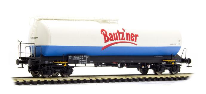 """Brawa 48767 Carro cisterna Uia """"Bautzener Senf"""" delle DR"""