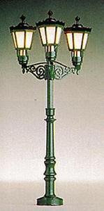 Brawa 5223 LAMPIONE 3 LUCI X PARCO