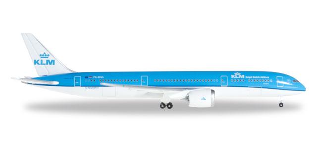 Herpa 528085-002 Boeing 787-9 Dreamliner KLM