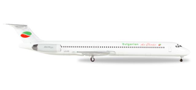 Herpa 530392 McDonnell Douglas MD-82 Bulgarian