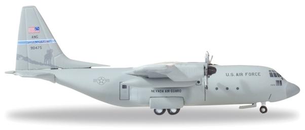 """Herpa 530651 LOckheed C-130h """"U.S. Air Force"""""""