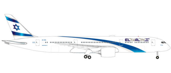 Herpa 531214 Boeing 787-9 Dreamliner El Al