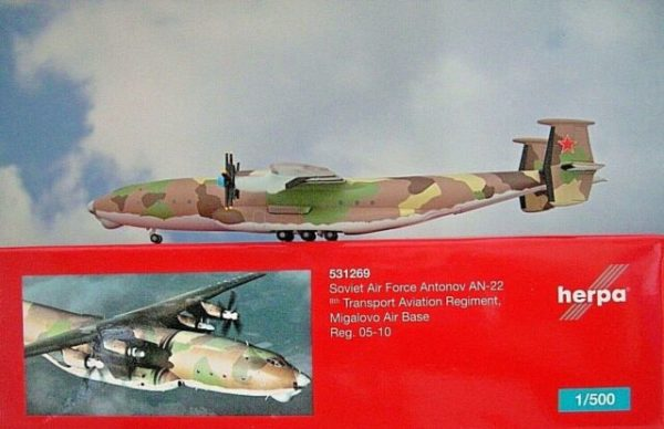 Herpa 531269 Antonov AN-22 Antei Soviet Air Force