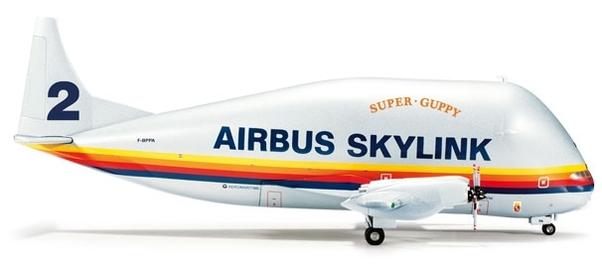 Herpa 555258 Airbus Skylink Super Guppy Turbine 377 SGT