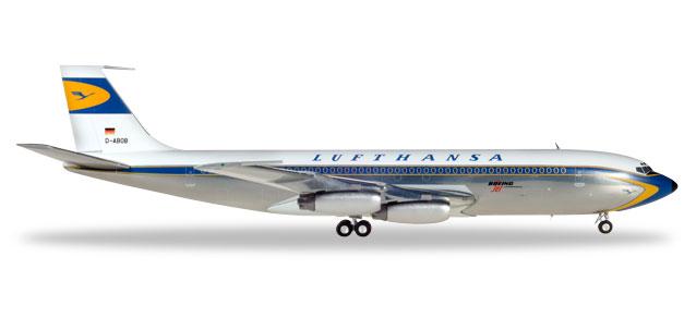 Herpa 557818-001 Boeing 707-400 Lufthansa