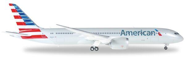 Herpa 557887 Boeing 787-9 DreamlinerAmerican Airlines