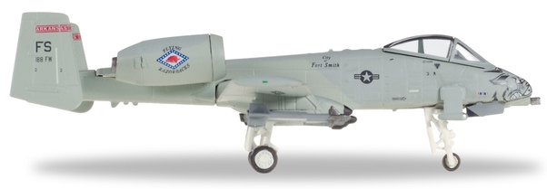 "Herpa 558273 Farchild A-10C USAF Arkansas ANG ""Razorbacks"""