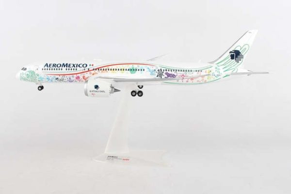 "Herpa 558389 Boeing 787-9 Aeromexico Dreamliner "" Quetzalcóatl"""
