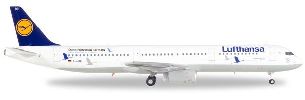 Herpa 558563 Airbus A321 25 anniversario Lufthansa