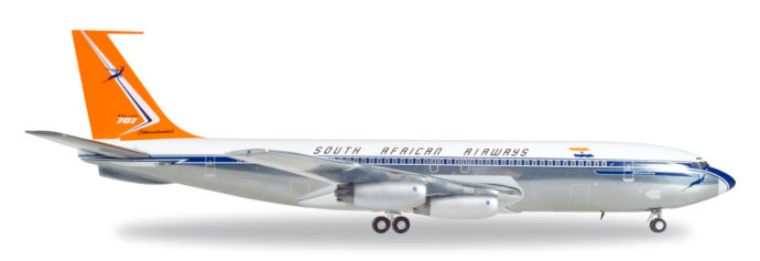 "Herpa 558693 Boeing 707-320 ""South African Airways"""