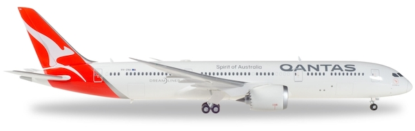 Herpa 558778 Boeing 787-9 Dreamliner Qantas (nuovi colori)