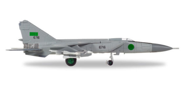 Herpa 558907 Mikoyan Gurevich  Mig-25PD Olimpi Airways