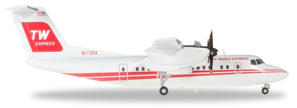 Herpa 559041 De Havilland Canada DHC-7 Tans World Ex