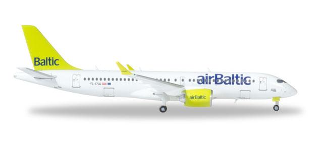 Herpa 562607 Bombardier CS 100 airBaltic