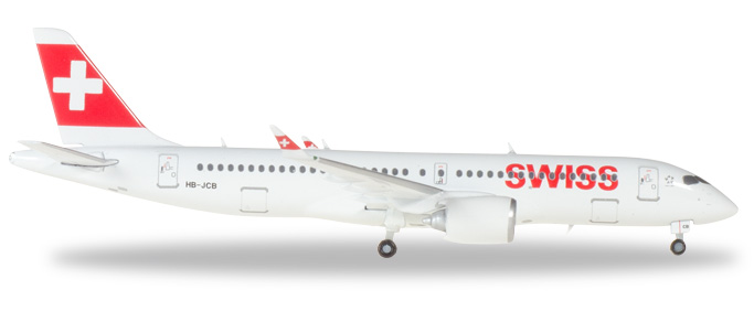 Herpa 562614 Bombardier CS300 Swiss International Air