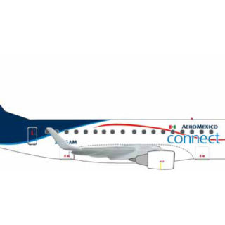 Herpa 562652 Connect Embraer E170 Aeromexico