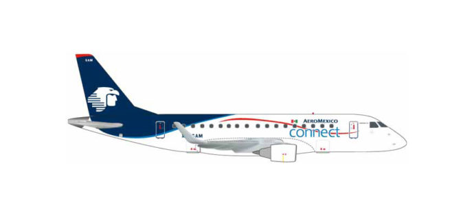 Herpa 562652 Connect Embraer E170 Aeromexico