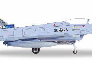 "Herpa 580359 Luftwaffe Eurofighter Typhoon ""Bavarian Tiger"""