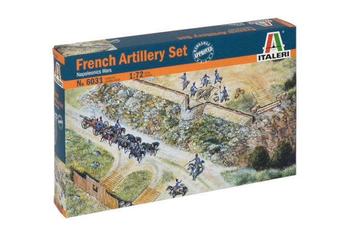 ITALERI 6031 French Artillery Set