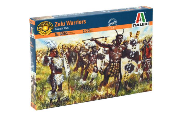 Italeri 6051  ZULU WAR-ZULU WARRIORS