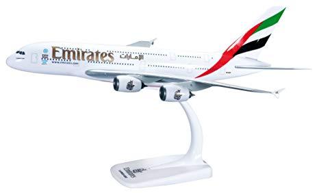 Herpa 607018-001 Airbua A380-800 Emirates