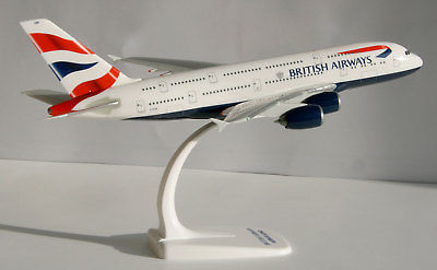 Herpa 609791 British Airways Airbus A380